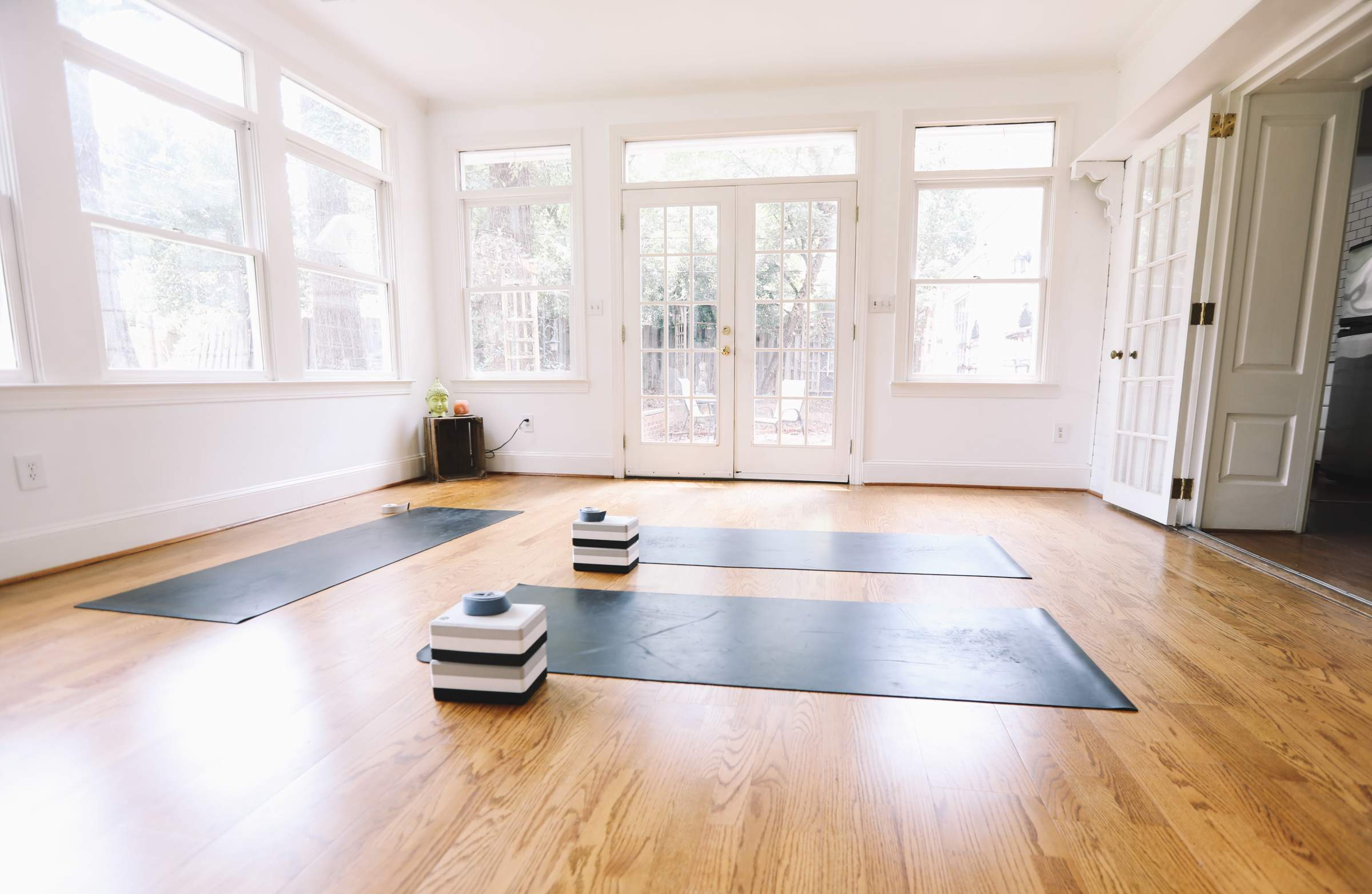There are many ways your mind and body can benefit from practicing yoga thats why creating a home yoga studio and having a place to do yoga whenever you