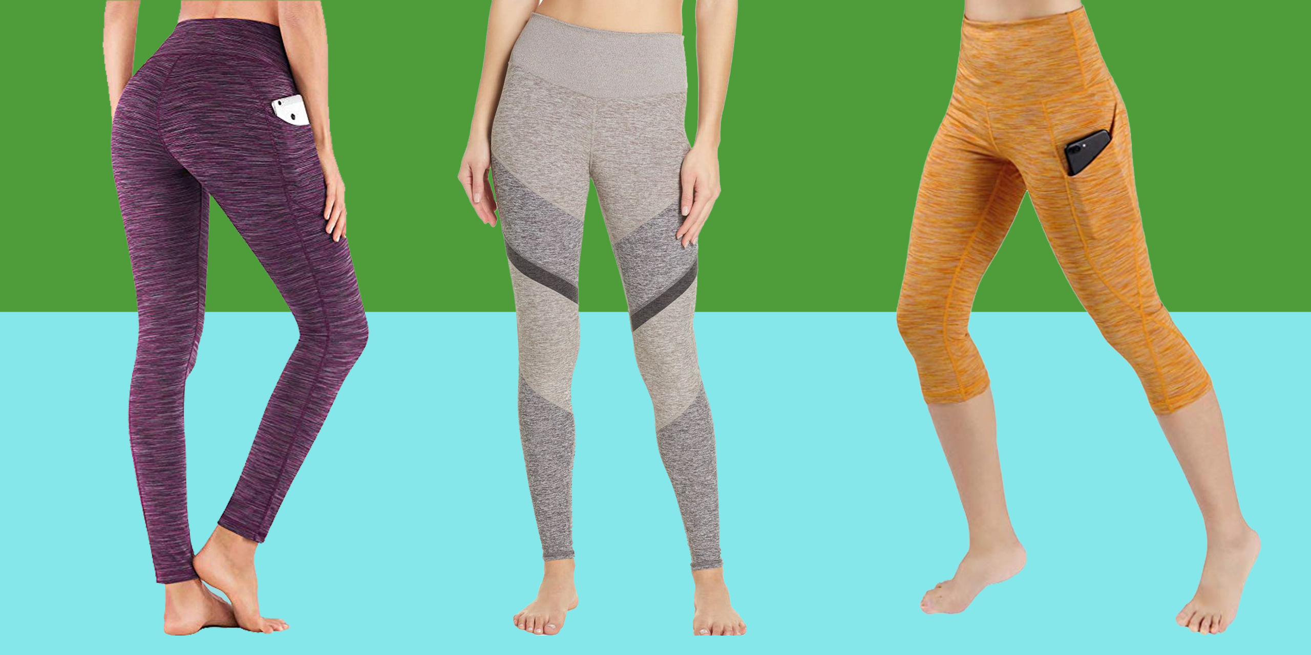 Witkey Printed Extra Long Yoga Leggings